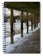 A Winter Walk Spiral Notebook