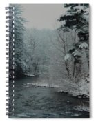 A Winter Waterland Spiral Notebook