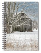 A Winters Day Square Spiral Notebook