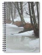 A Winter's Scene Spiral Notebook