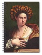 A Woman Spiral Notebook