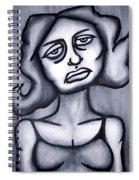 A Woman Spiral Notebook