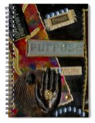 A Woman With Purpose Spiral Notebook