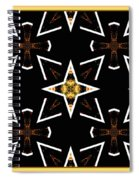 A World Of Abstract Spiral Notebook