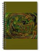 A World Of Rainbows Spiral Notebook
