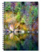 A Yellow Lake Calm Spiral Notebook