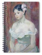 A Young Girl Spiral Notebook