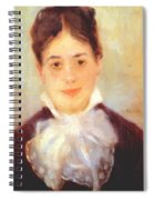 A Young Woman 1875 Spiral Notebook