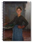 A Zandvoort Fishergirl Spiral Notebook