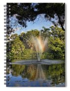 A Zen Oasis By H H Photography Of Florida Spiral Notebook