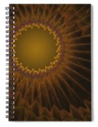 a044 Sunny Side Of The Galaxy Spiral Notebook