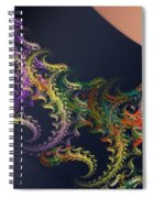 a050 Lace From Lily-of-the-west's Stocking Spiral Notebook