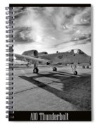 A10 Thunderbolt Spiral Notebook