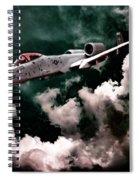 A10 Thunderbolt In Flight Spiral Notebook