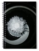 A320 Spinner Ice Spiral Notebook