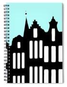 Aan De Amsterdamse Grachten - On The Amsterdam Canals Spiral Notebook