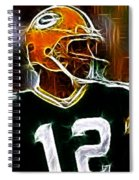 Aaron Rodgers - Green Bay Packers Spiral Notebook