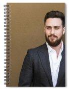 Aaron Taylor-johnson Spiral Notebook