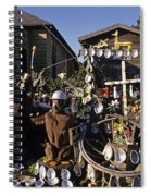 Abalone Shell House Spiral Notebook