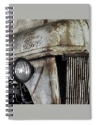 Abanded Tractor 4 Spiral Notebook