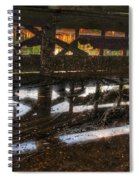 Abandon Dock Spiral Notebook