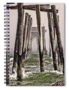 Abandon Pier Thru The Fog Spiral Notebook