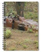 Abandoned Antique Car Spiral Notebook