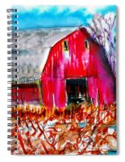 Abandoned Barn Spiral Notebook
