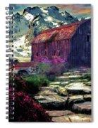 Abandoned Beauties Spiral Notebook