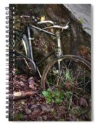 Abandoned Bicycle Spiral Notebook