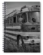 Abandoned Bus Spiral Notebook