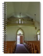 Abandoned Church In Prison Yard Spiral Notebook