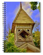 Abandoned Church Steeple Spiral Notebook