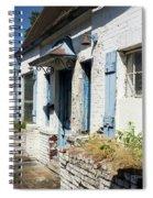 Abandoned Cottage Spiral Notebook