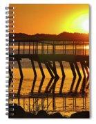 Abandoned Dock Spiral Notebook