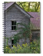 Abandoned Farmhouse On Stacy Fork Spiral Notebook