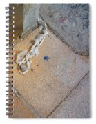 Abandoned Fishing Knot Spiral Notebook