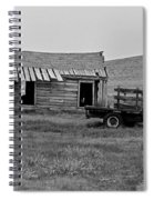 Abandoned Ford Truck And Shed Spiral Notebook