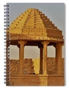 Abandoned Gazebo In Kuldhara Spiral Notebook