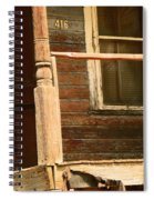 Abandoned House - Abandoned Porch Spiral Notebook
