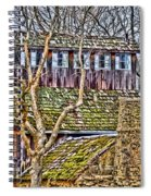 Abandoned House-don Robinson State Park-enhanced Spiral Notebook