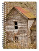 Abandoned House With Colorful Roof Spiral Notebook