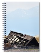 Abandoned In A Sea Of Mining Tailings Spiral Notebook