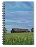Abandoned In Grass Spiral Notebook
