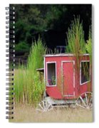 Abandoned In The Field Spiral Notebook