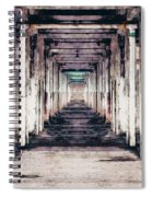 Abandoned Industrial Building Spiral Notebook