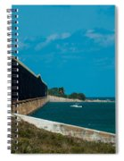 Abandoned Keys Bridge Spiral Notebook