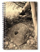 Abandoned Mill-stone Spiral Notebook
