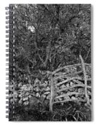 Abandoned Minorcan Country Gate Spiral Notebook
