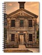 Abandoned Montana School Spiral Notebook